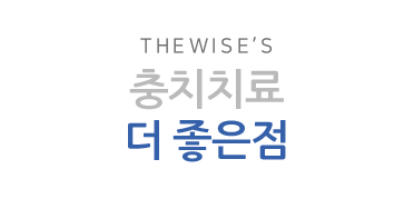 THE WISE's 교정치료의 더 좋은점